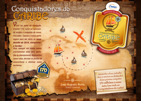 CONQUISTADORES DO CARIBE